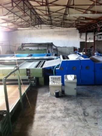 WADDING LINE : Thermobonding and Spary bonding - Second Hand Textile Machinery