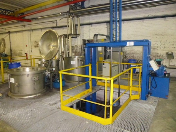 Dyeing line for bumps - Second Hand Textile Machinery
