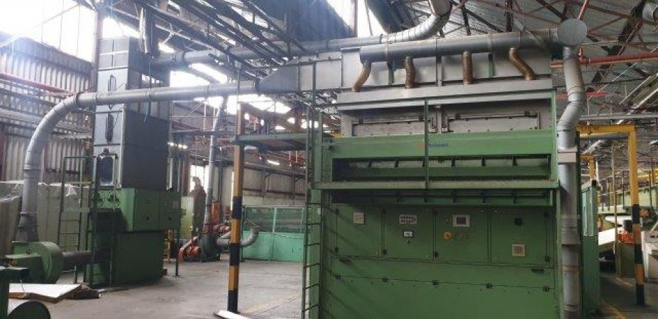 Complete needle line in 5 meters wide - Second Hand Textile Machinery