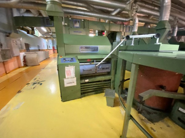Small Cotton spinning Unit Ring and Open End - Second Hand Textile Machinery
