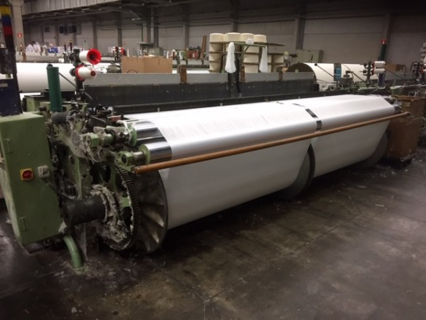 Projectile looms P7100 SULZER - Second Hand Textile Machinery 1989