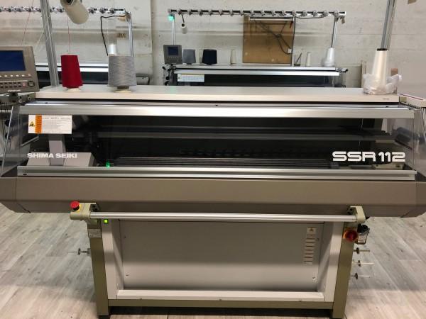 Flat knitting machine SHIMA SSR - Second Hand Textile Machinery 2011, 2012, 2013