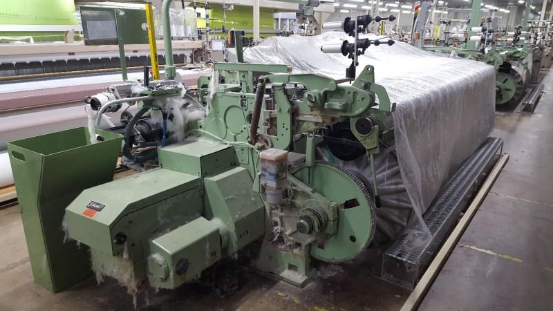 Air jet looms DORNIER LWV - Second Hand Textile Machinery 1997 /99