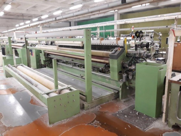 DORNIER LWV and AWS Air jet looms in wider width - Second Hand Textile Machinery 96-2000-2003