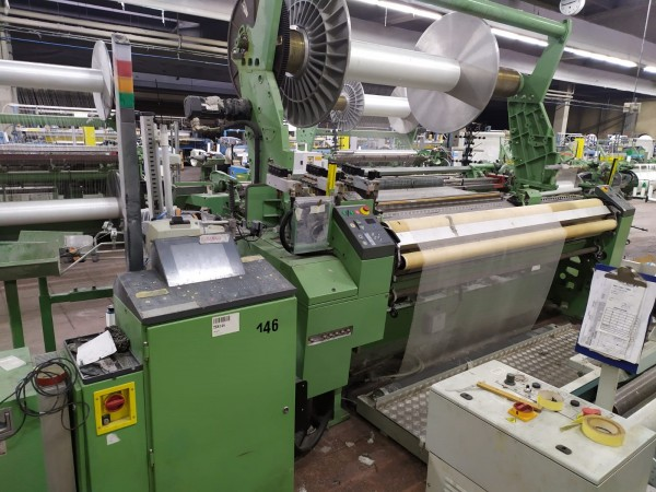 DORNIER EASYLENO AWS-2-L Air jet looms  - Second Hand Textile Machinery 2004