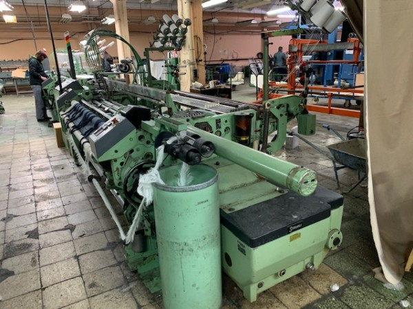 Rapier looms HTV DORNIER - Second Hand Textile Machinery 1991 / 92