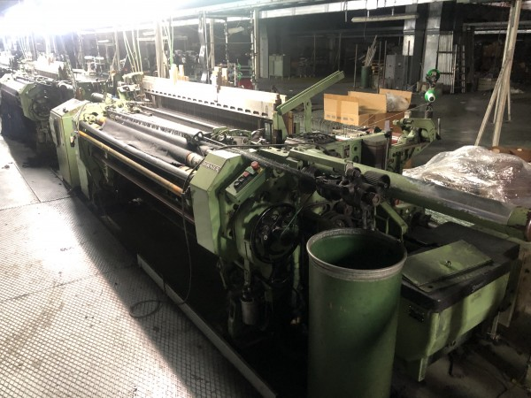 Rapier looms HTV DORNIER - Second Hand Textile Machinery 1989