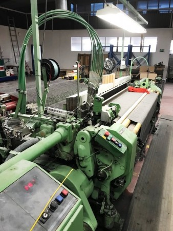 Rapier looms DORNIER GTN - Second Hand Textile Machinery 1985