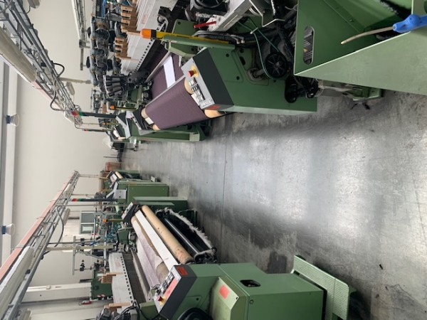 DORNIER PTS Rapier looms  - Second Hand Textile Machinery 2007