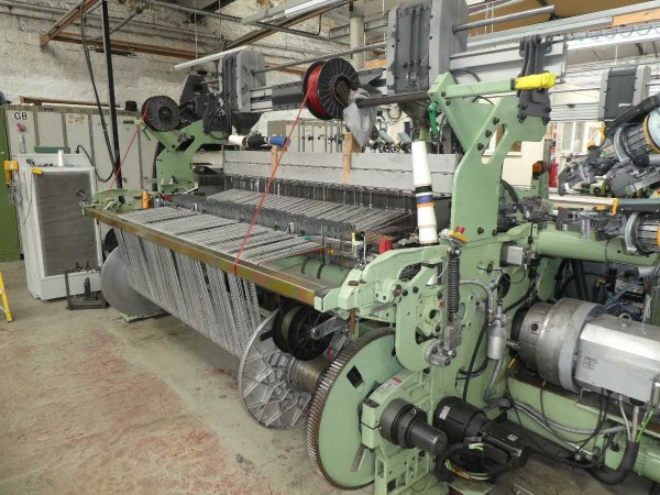 DORNIER PTS/ P1 Rapier looms  - Second Hand Textile Machinery 2015