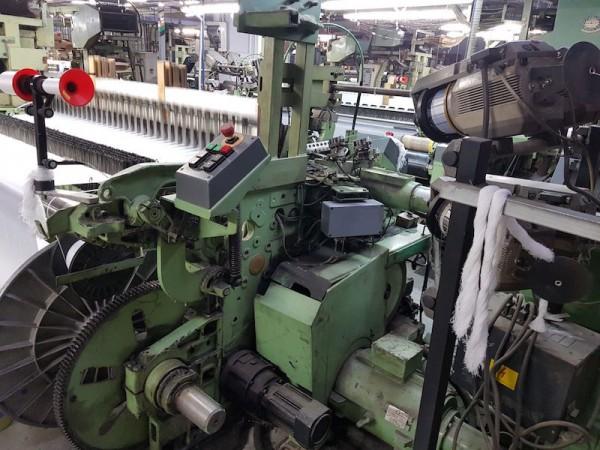 Rapier looms DORNIER HTVS - Second Hand Textile Machinery 1995/96