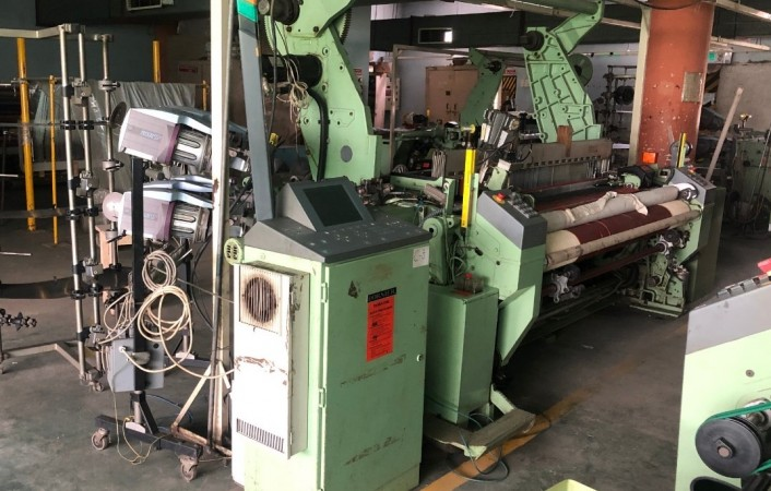 DORNIER HTVS 8S Rapier looms  - Second Hand Textile Machinery 1995