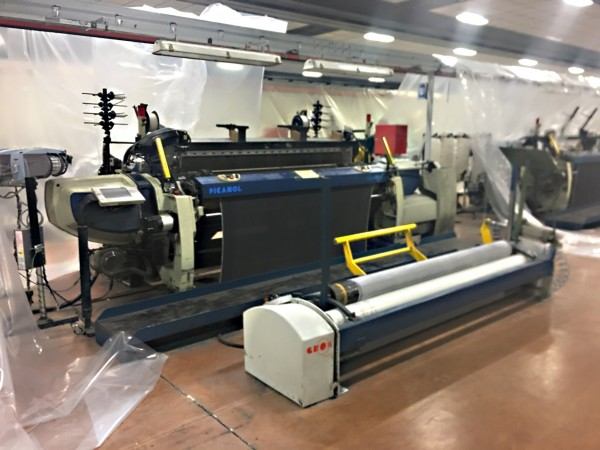 PICANOL OPTIMAX rapier looms - Second Hand Textile Machinery 2010