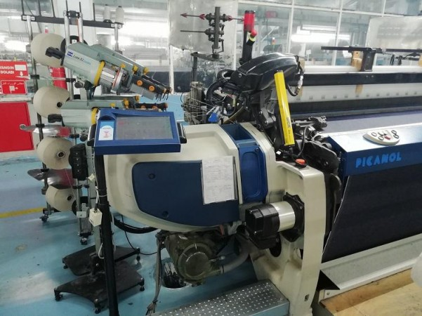 PICANOL OPTIMAX rapier looms - Second Hand Textile Machinery 2012/2013
