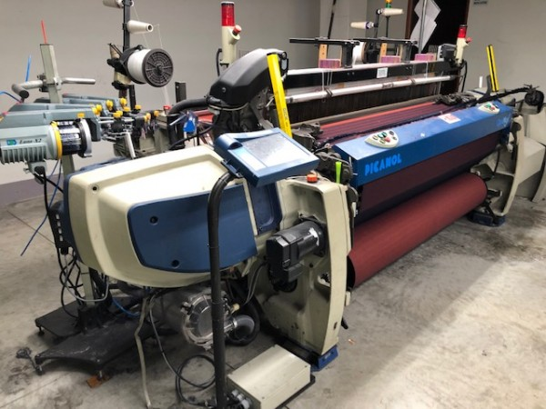 PICANOL OPTIMAX rapier looms - Second Hand Textile Machinery 2007