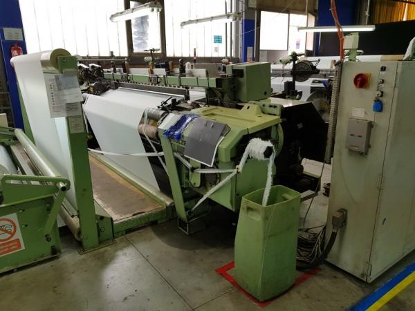 Rapier looms SULZER G6200 - Second Hand Textile Machinery 1998/99/2000