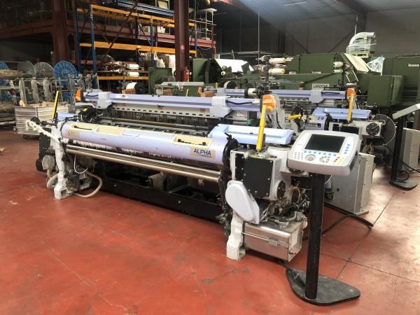 SOMET ALPHA PGA Rapier looms  - Second Hand Textile Machinery 2007