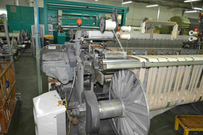 Rapier looms VAMATEX LEONARDO SILVER Hi Drive - Second Hand Textile Machinery 2005