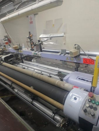 VAMATEX LEONARDO SILVER HS Rapier looms  - Second Hand Textile Machinery 2006 - 2007
