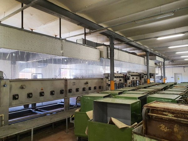 MENZEL Mercerizing line - Second Hand Textile Machinery 2010