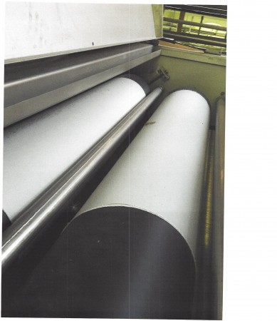 Mercerising machine MEZZERA . - Second Hand Textile Machinery 2012