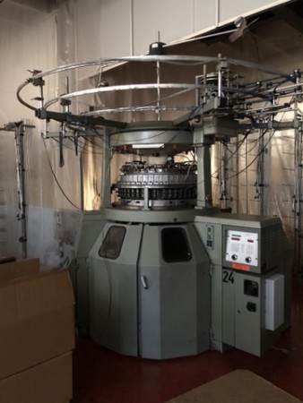 TERROT UP248 Circular knitting machines - Second Hand Textile Machinery 2000 / 2002