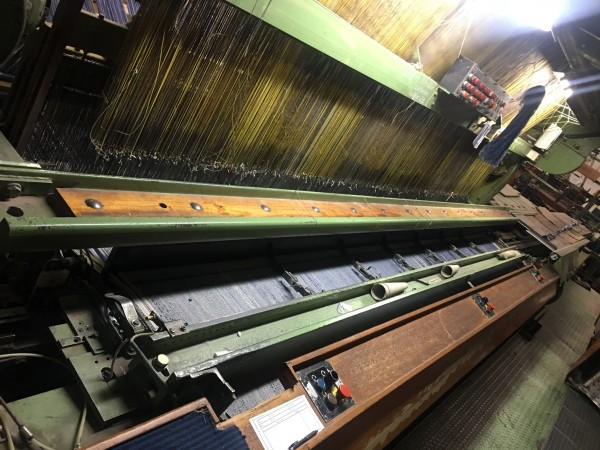 Van De Wiele Ptr Carpet Weaving Looms 1991 Textile Machinery