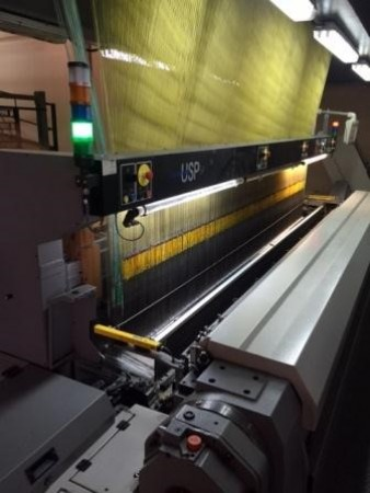 VAN DE WIELE USP93-400 Shaggy-Loop Carpet weaving looms  - Second Hand Textile Machinery 2012-2013