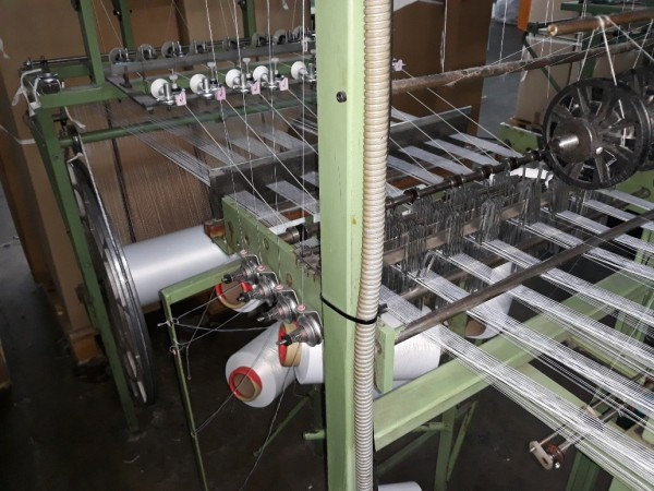 MULLER NFN 53 Narrow fabric looms for tapes and belts  - Second Hand Textile Machinery 1997 / 98