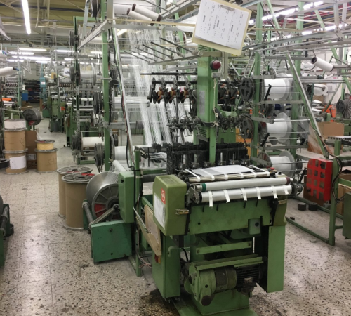 MULLER NFN 53 Narrow fabric looms for tapes and belts  - Second Hand Textile Machinery 2001