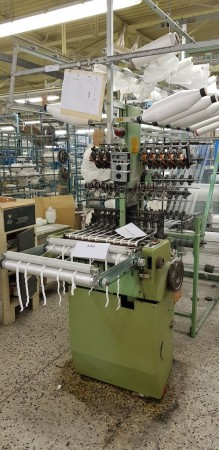 MULLER NFN53 Narrow fabric looms for tapes and belts  - Second Hand Textile Machinery 1998