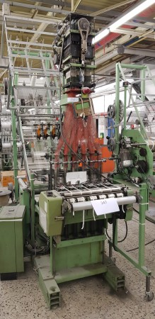 MULLER NFJM53 Jacquard Narrow fabric looms for tapes and belts  - Second Hand Textile Machinery 1989