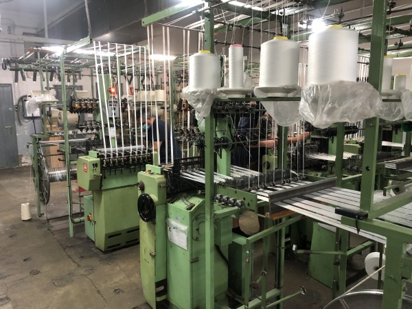 MULLER NF Narrow fabric looms for tapes and belts  - Second Hand Textile Machinery 1998