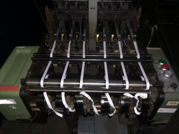 MULLER NF Narrow fabric looms for tapes and belts  - Second Hand Textile Machinery 1985-88