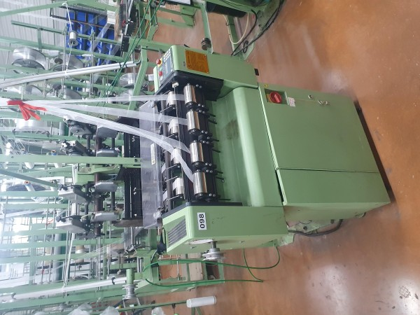 Narrow fabric looms for tapes and belts MULLER NG 42 - Second Hand Textile Machinery 1998-2001
