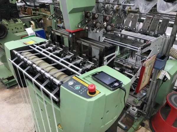 MULLER NH Narrow fabric looms for tapes and belts  - Second Hand Textile Machinery 2010