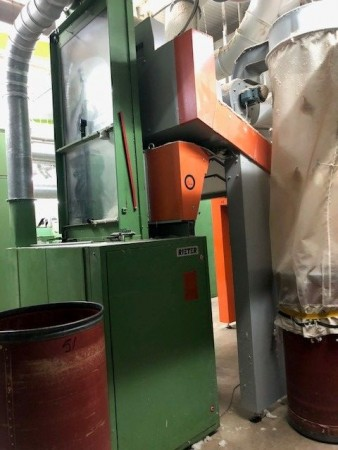 Cleaning and opening RIETER B5/5 - Second Hand Textile Machinery 1988