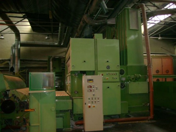 TECNOTEX Non Woven Card  . - Second Hand Textile Machinery 2001