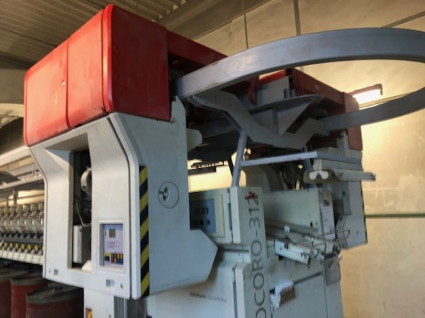 Open end SCHLAFHORST ACO 312 - Second Hand Textile Machinery 2002