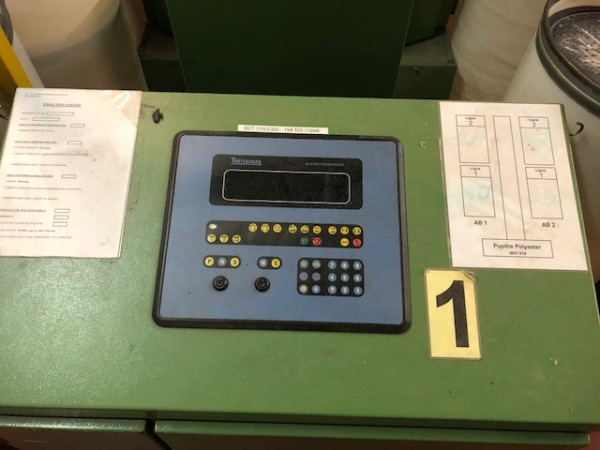 BLENDOMAT TRUTZSCHLER Bale opener  - Second Hand Textile Machinery 1994