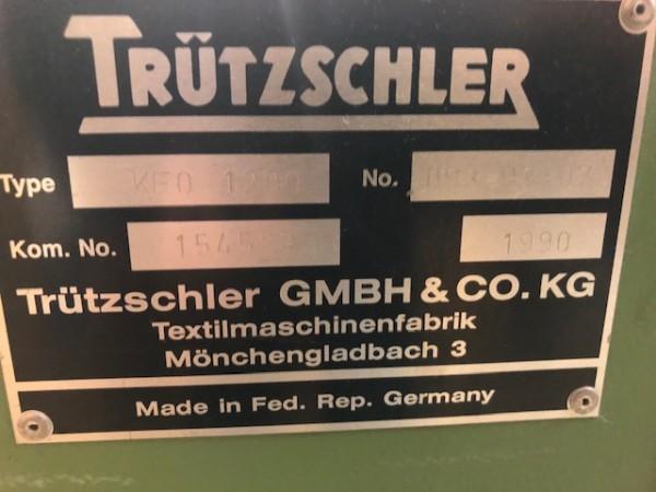 Ouvreuse de balle TRUTZSCHLER CS  - Occasion 1990