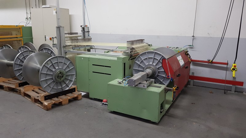 MULLER SMA Direct warper - Second Hand Textile Machinery 2010