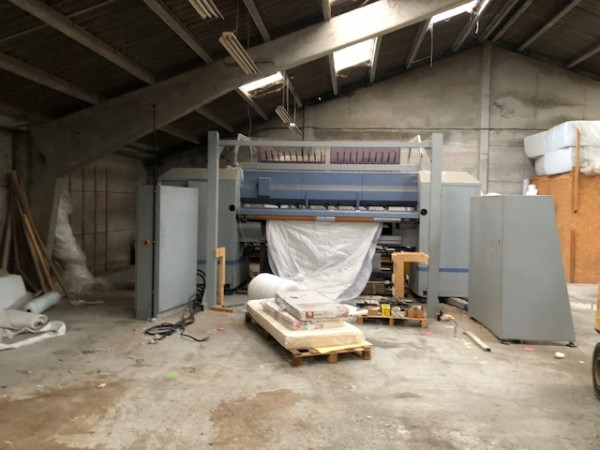Quilting machine Perfecta Schmitt . - Second Hand Textile Machinery