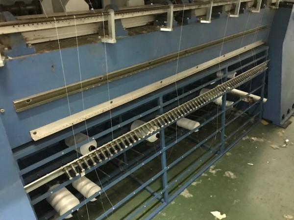 Quilting machine SOTEXI PIK PIK - Second Hand Textile Machinery 1997