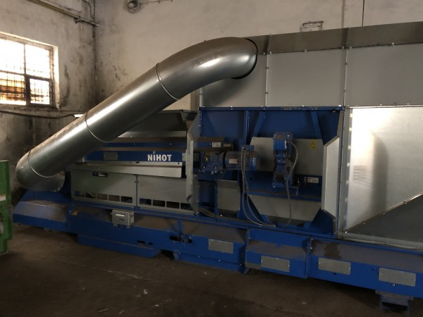 NIHOT SDS 800i Windshifters - Second Hand Textile Machinery 2017