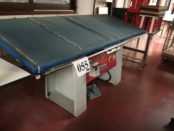 DOMISSE steaming table  - Second Hand Textile Machinery 2001