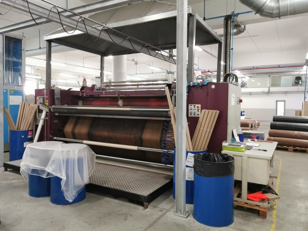 MONTI ANTONIO Transfer Printing calender. - Second Hand Textile Machinery 2008