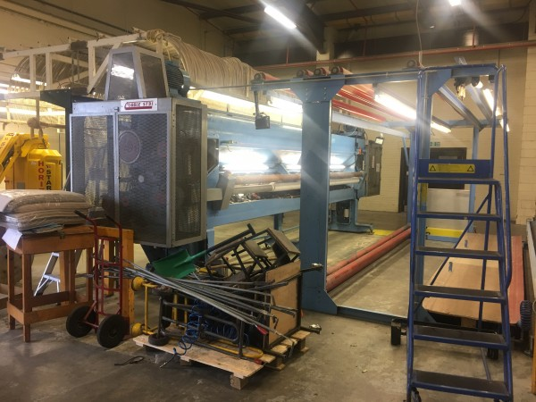COBBLE ST91 tufting machine  - Second Hand Textile Machinery 1992