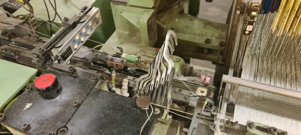 Terry weaving looms G6200 SULZER with Jacquard - Second Hand Textile Machinery 1995/1996