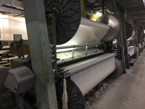 SULZER TPS636 Jacquard Terry weaving looms - Second Hand Textile Machinery 1998